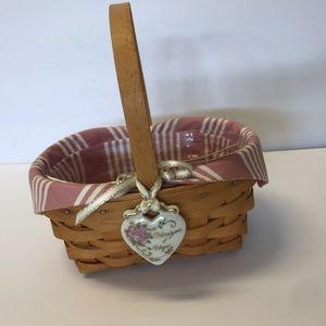 Vintage And Classic Longaberger Basket